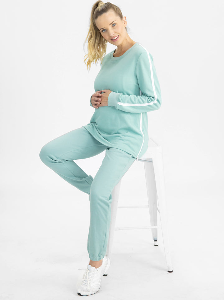 Tracksuit Set in Sage main