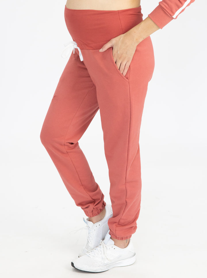 Tracksuit Set in Coral pants