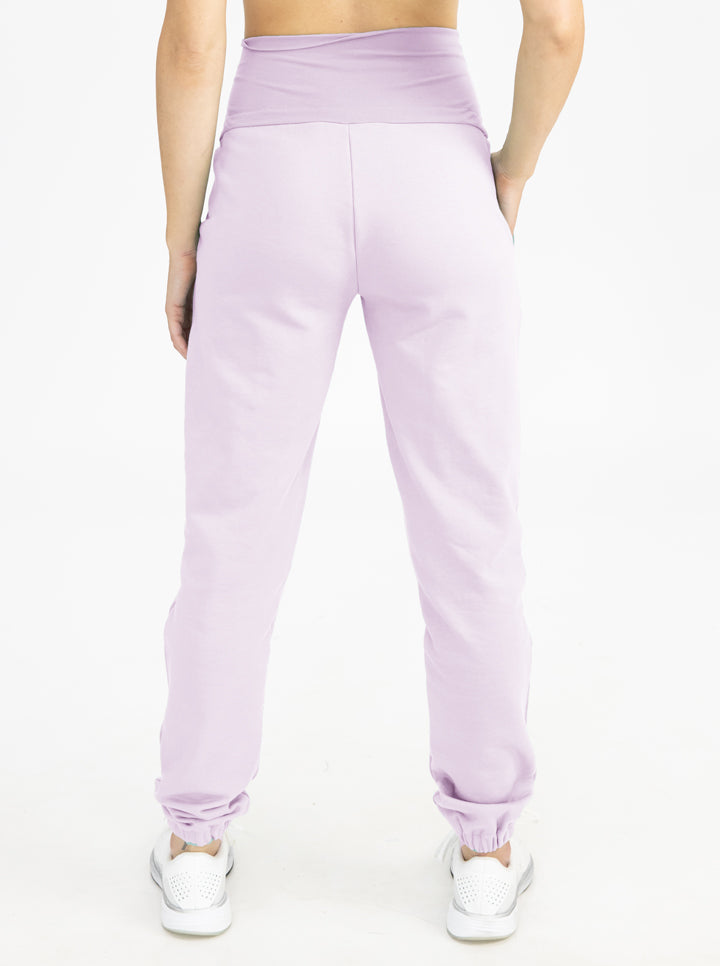 Tracksuit Set in Lilac pants