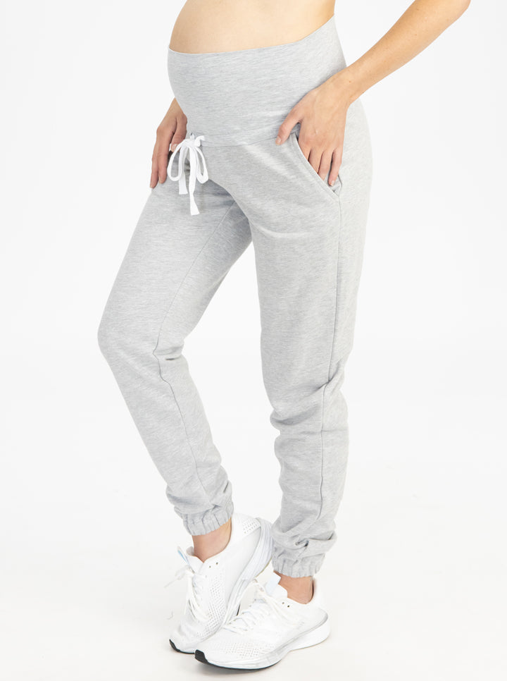 Tracksuit Set in Marl Gray pants