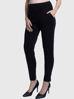 Maternity Stretchy Pants in Full Length - Black