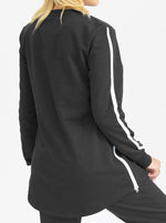 Maternity Tracksuit Set in Black