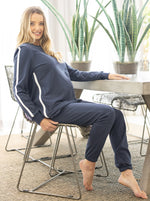 Tracksuit set in Navy - Maternity and Nursing Friendly