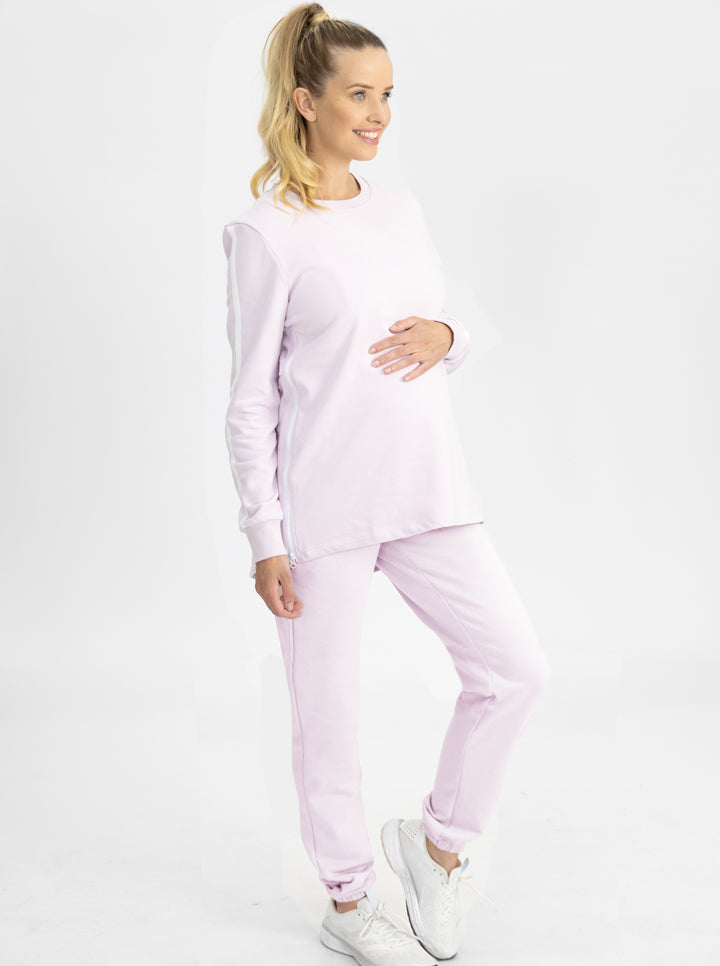 Tracksuit Set in Lilac