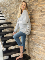 Maternity Oversized Luxury Wool Knit Nursing Jumper