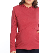 Nursing Hoodie Breastfeeding Top