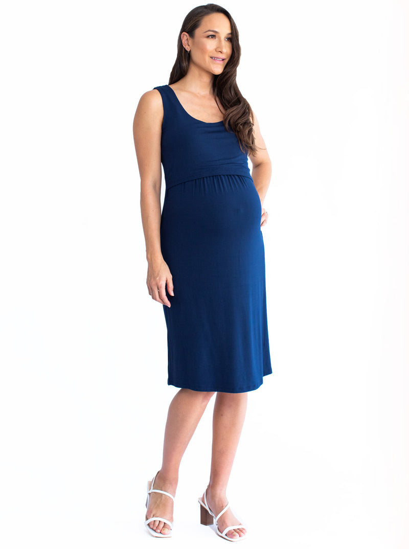 Maternity & Nursing Sleeveless Dress