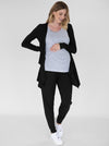 """Street to Home"" Maternity 3 Piece Relax Outfit in Black"