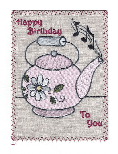 Happy Birthday Teapot - BD096P