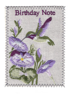 Birthday Humming Bird - BD276P