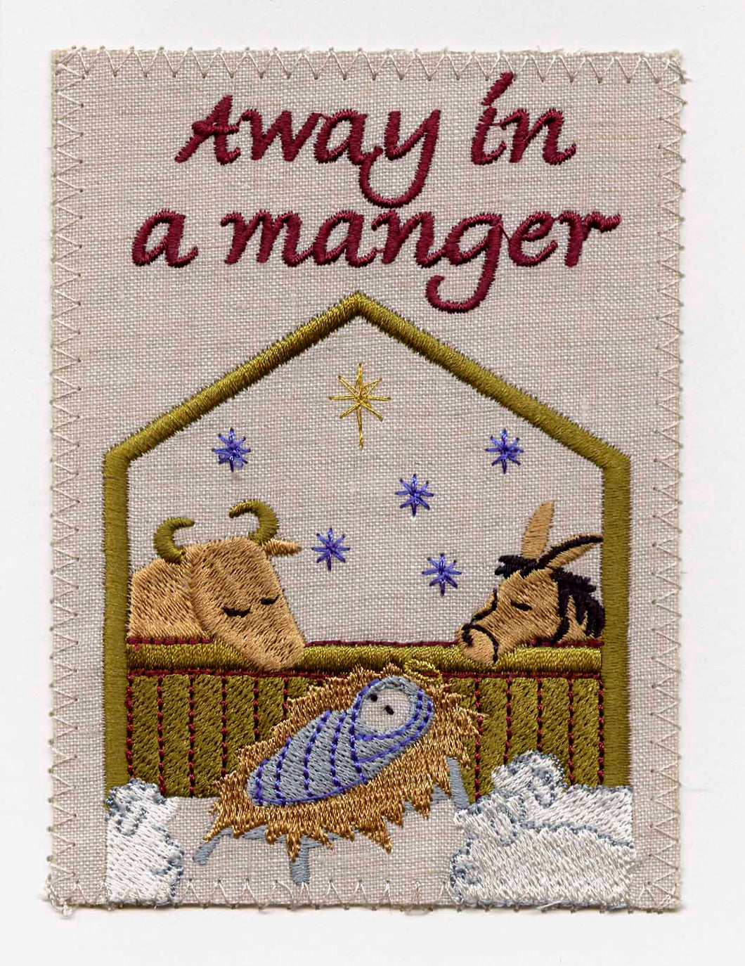 Away In A Manger - C138P