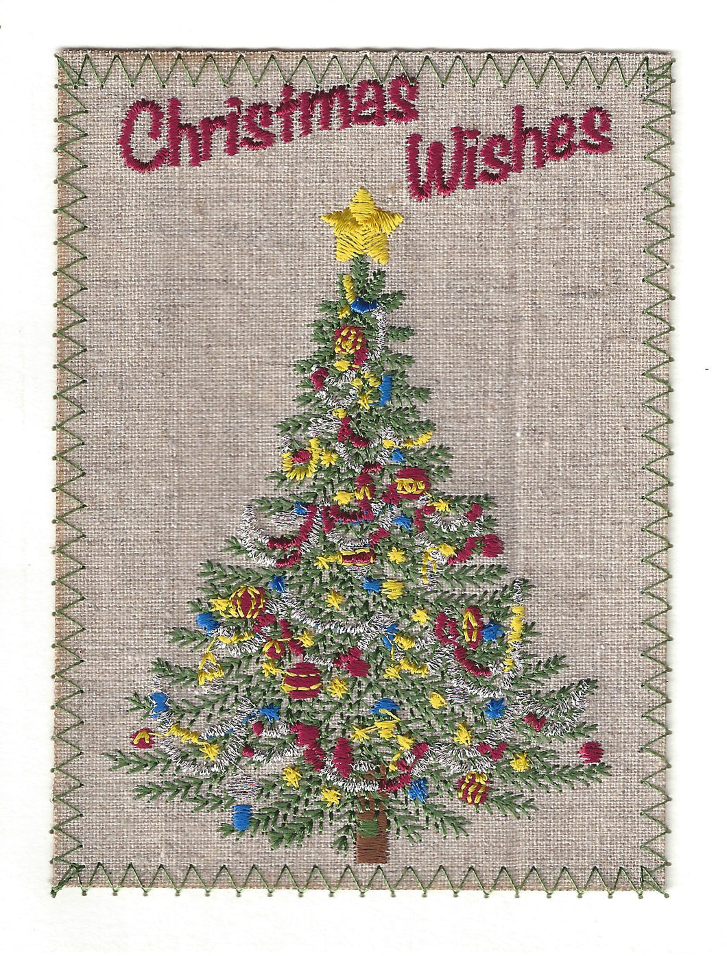 Christmas Wishes Christmas Tree - C142P