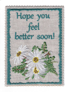 Get Well Card - Item# GW188P