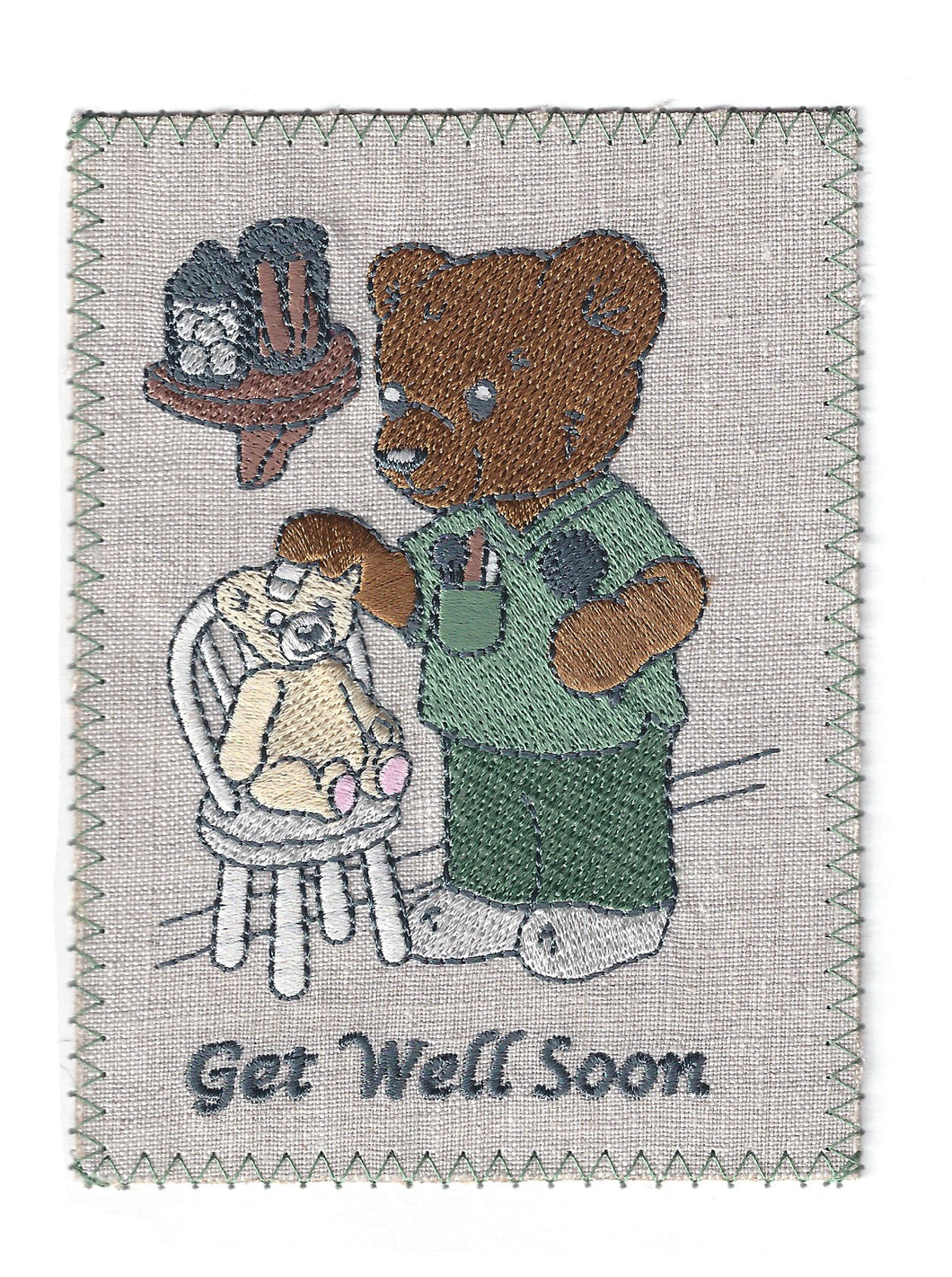 Doctor Bear Get Well Soon - GW131P