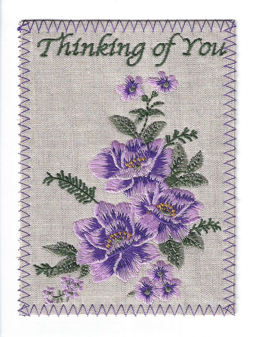 Thinking of You Purple Flowers -TOY269P
