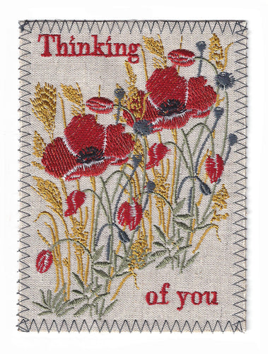 Thinking of You Red Poppies -TOY270P