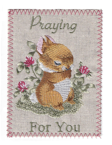 Thinking of You Praying Bunny -TOY271P