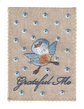 Fluttering Little Bird with Eye Catching Blue Dots - TY127P