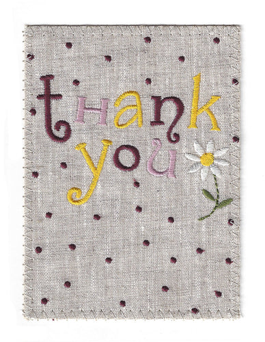 Thank You with Delightful Polkadots - TY155P