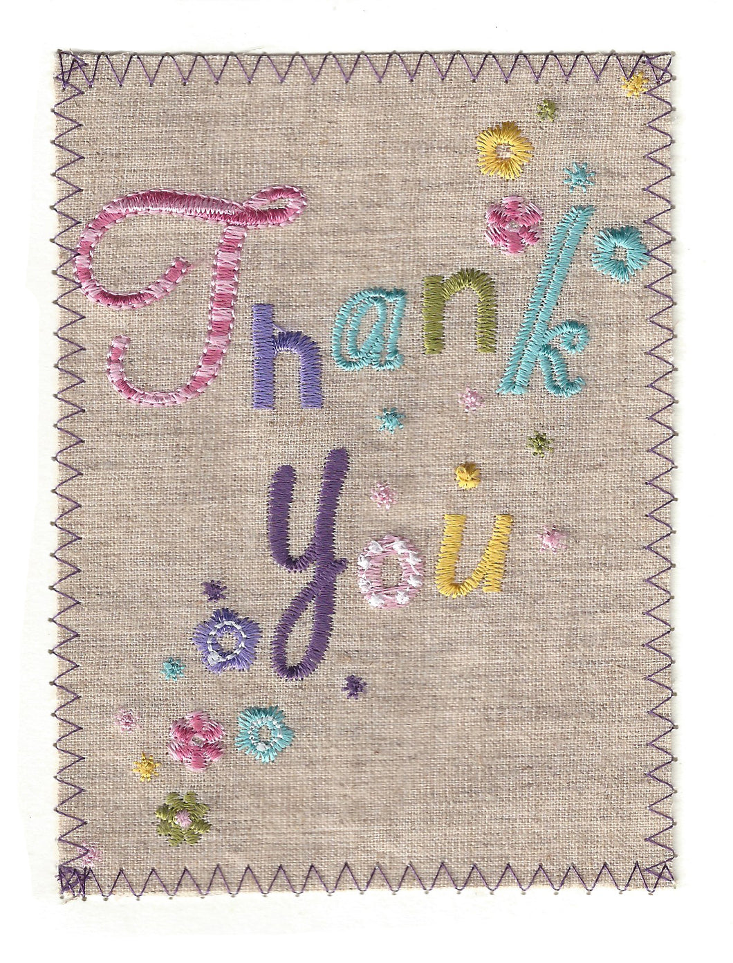 Thank You in Fun and Attractive Colors - TY204P