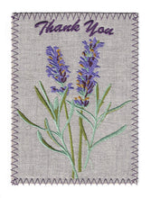 Lavender Flowers and Green Branches - TY236P