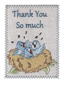 Thank You Birds in Nest - TY274P