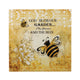 Bumble Bee 3-D Garden Wall Art - crazydecor
