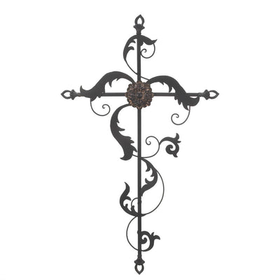 Baroque Wall Cross - crazydecor