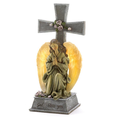 Blessed Cross Solar Light - crazydecor