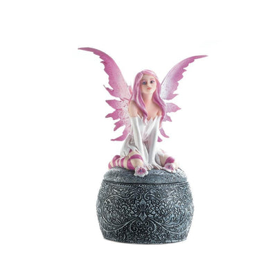 Pink Winged Fairy Box - crazydecor