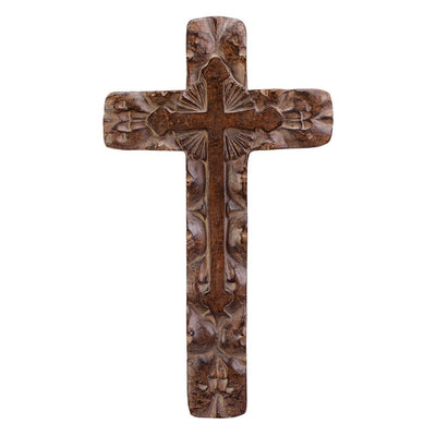 Rustic Wall Cross - crazydecor
