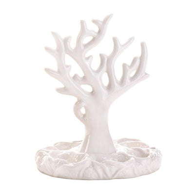 White Coral Jewelry Holder - crazydecor