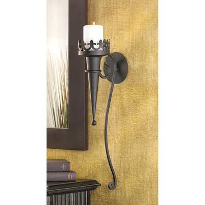Gothic Candle Sconce - crazydecor
