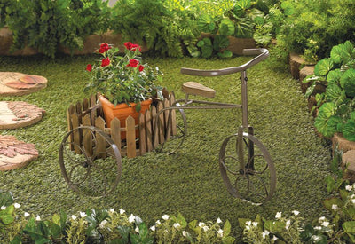 Charming Cycle Plant Stand - crazydecor