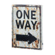 Light-Up One Way Sign - crazydecor