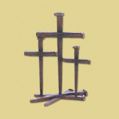 Cross Of Nails Trio Decor - crazydecor