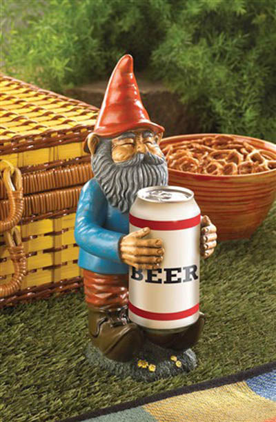 Beer Buddy Gnome - crazydecor