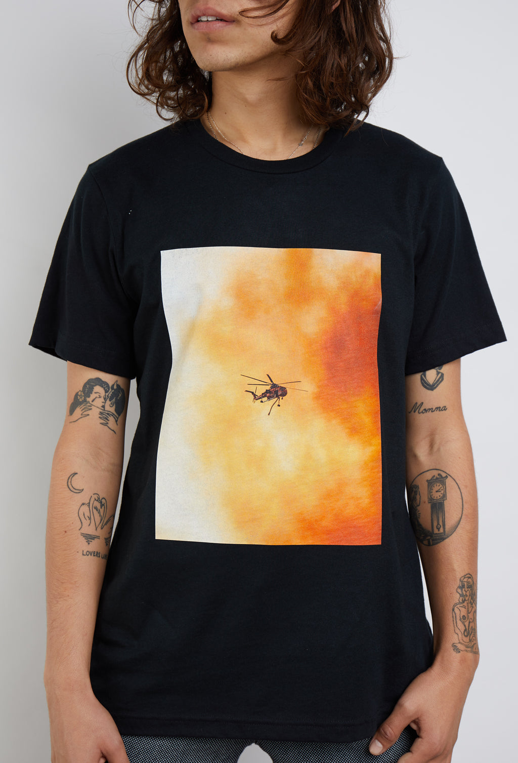 Shades of Black x Kid88 x Shot by Kyle Collaboration California Wildfire T-Shirt