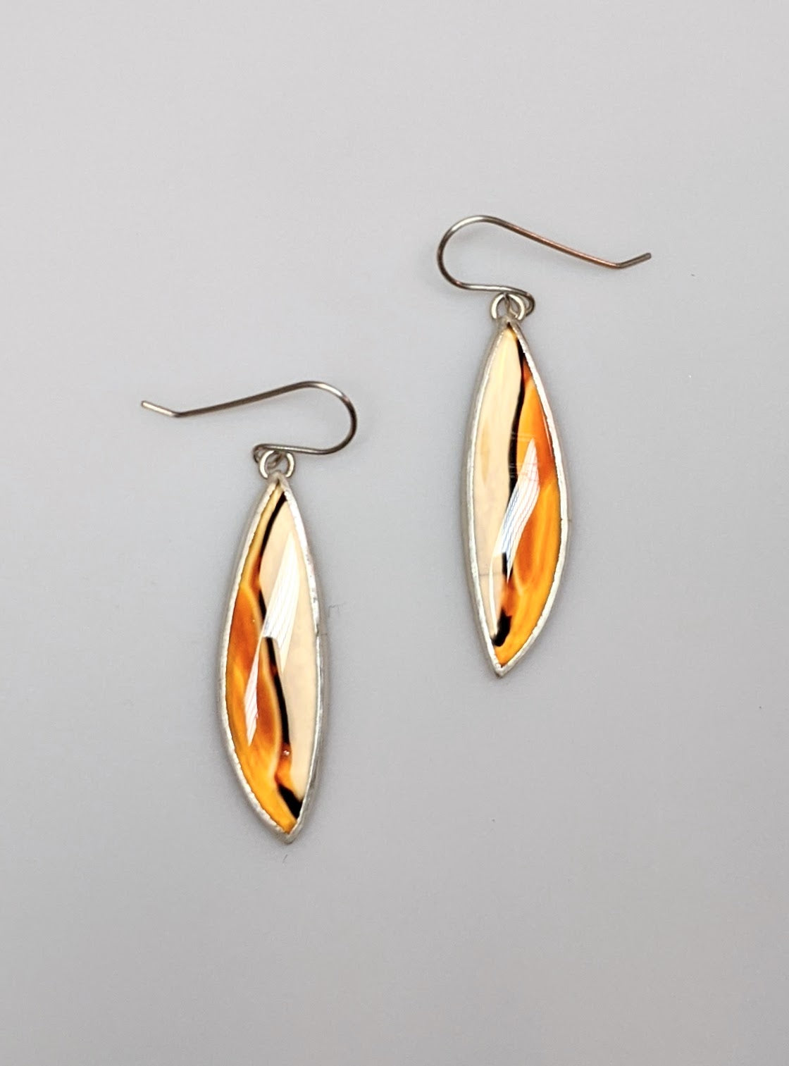 Montana Agate Graphic Earrings