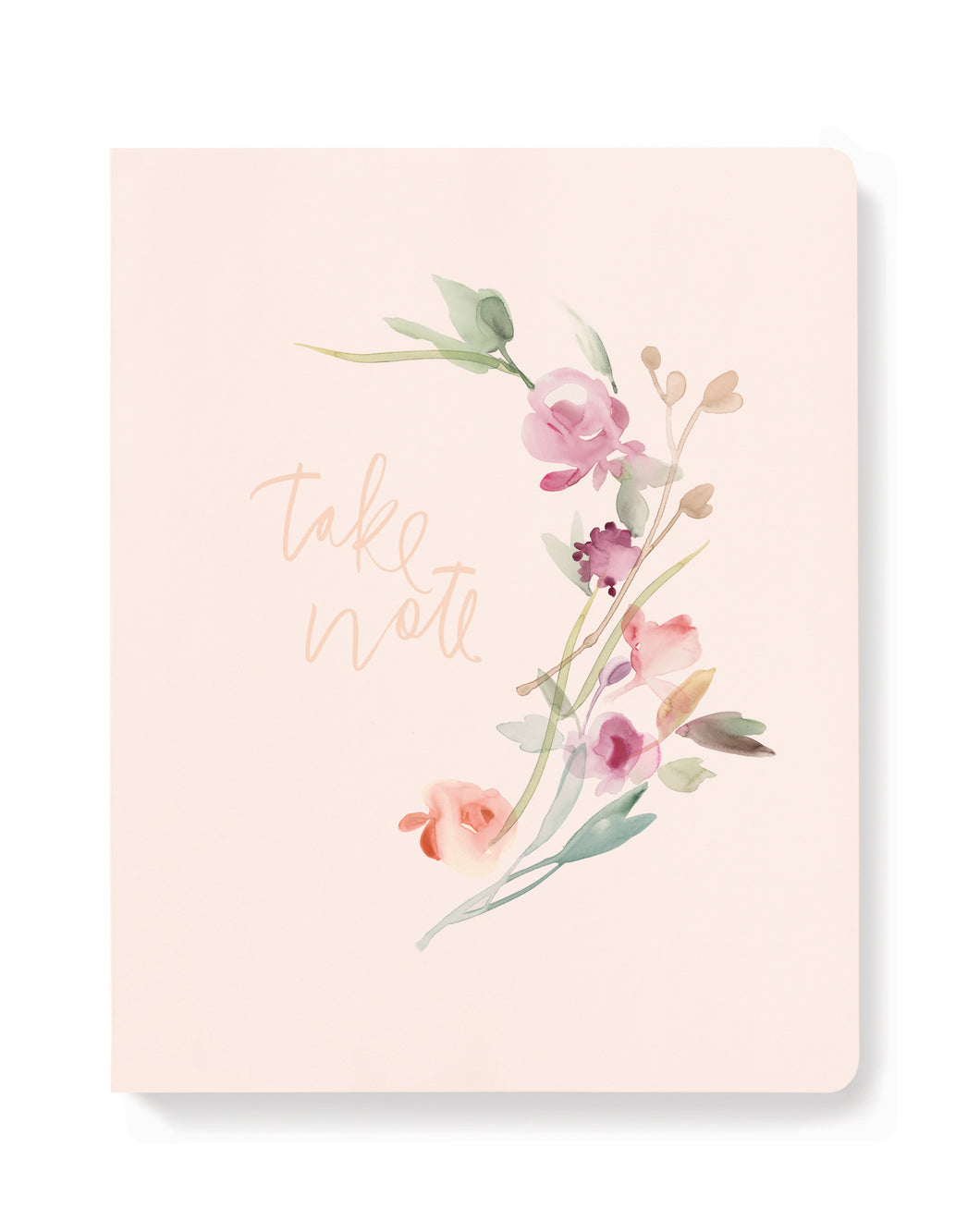 FRINGE STUDIO TAKE NOTE FLORAL JOURNAL