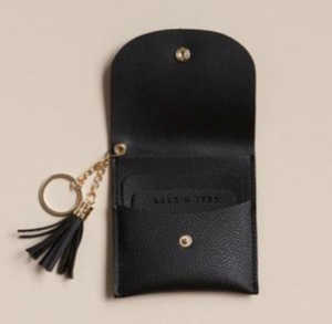 Black  Keychain Wallet