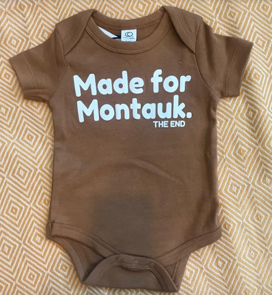 Made For Montauk Onesie: Size 0-3M