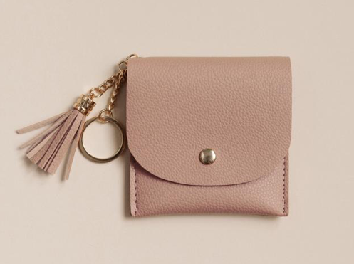 Rose keychain Wallet