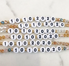 Personalized Special Date Bracelet