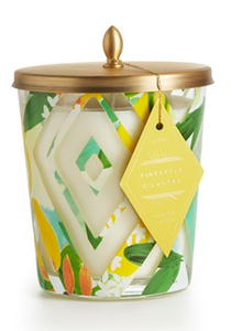 Pineapple Cilantro Large Cameo Jar