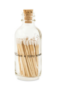 Poetry Mini Match Bottle