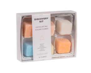 Exfoliating Sugar Cubes : Discovery Kit Gift Box
