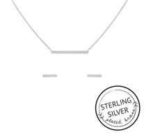Connected Necklace & Earring set: SILVER