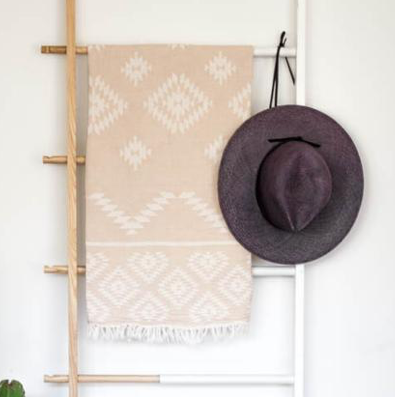 Tribe Turkish Towel: Beige