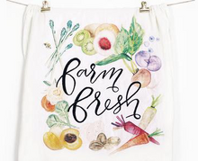 Farm Fresh Flour Sack Tea Towel